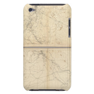 Mapa topográfico de la región de la explotación mi iPod Case-Mate coberturas
