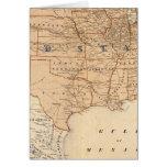 Mapa topográfico de los Estados Unidos Tarjeta