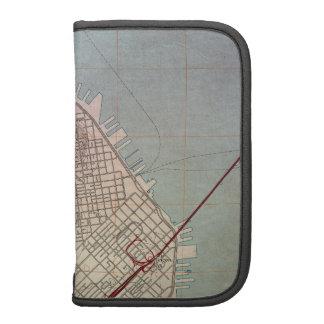 Mapa topográfico del este de San Francisco Planificadores