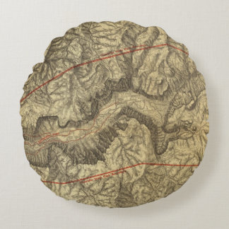 Mapa topográfico del valle 2 de Yosemite