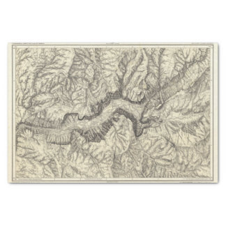 Mapa topográfico del valle de Yosemite