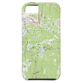 Mapa topográfico funda para iPhone SE/5/5s