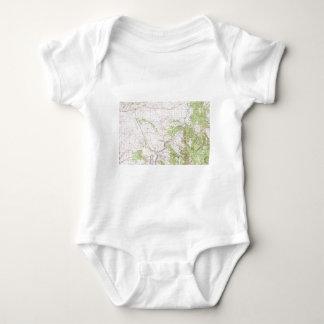 Mapa topográfico mameluco de bebé