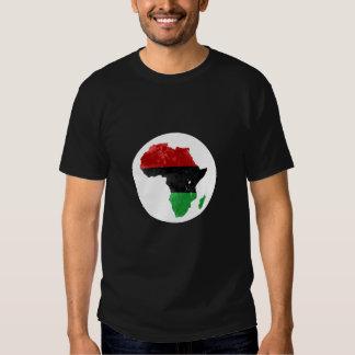 Mapa topográfico nacionalista negro II de África Polera