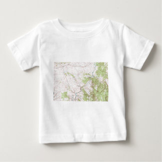 Mapa topográfico remeras