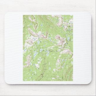Mapa topográfico alfombrilla de raton