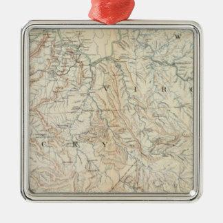 Mapa VI de la GEN Ornamento Para Arbol De Navidad