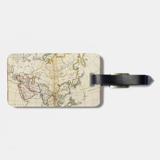 Mapa viejo 1799 de Asia Etiquetas Para Maletas