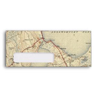 Mapa viejo de Lakeville Massachusetts