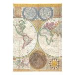 Mapa viejo del mundo comunicados personales
