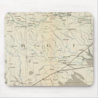 Mapa X de la GEN Alfombrillas De Raton