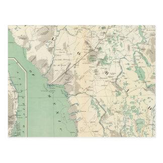 Mapa XI de la GEN Tarjeta Postal