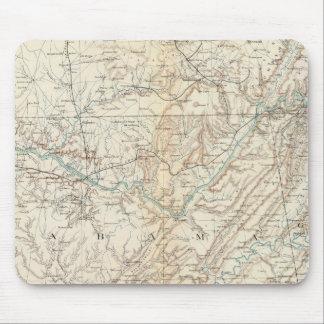 Mapa XIV de la GEN Alfombrilla De Raton