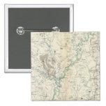 Mapa XIX de la GEN Pin Cuadrado