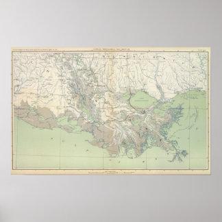Mapa XXI de la GEN Póster