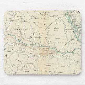 Mapa XXVI de la GEN Alfombrillas De Ratones
