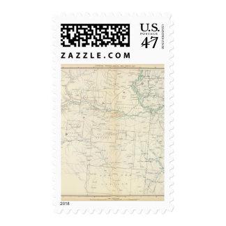 Mapa XXVI de la GEN Sellos Postales