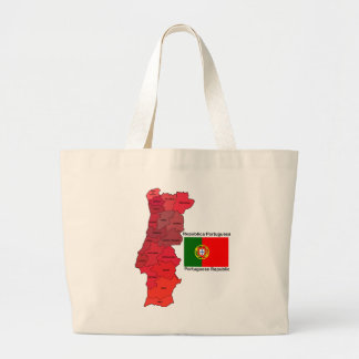 Mapa y bandera de Portugal Bolsas
