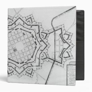 Mapa y fortalecimientos de Neuf-Brisach