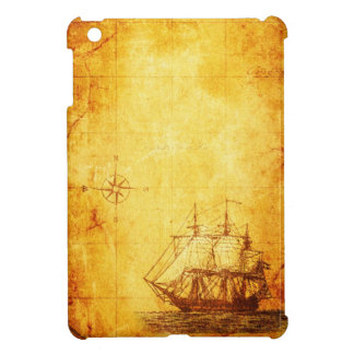 Mapa y nave antiguos