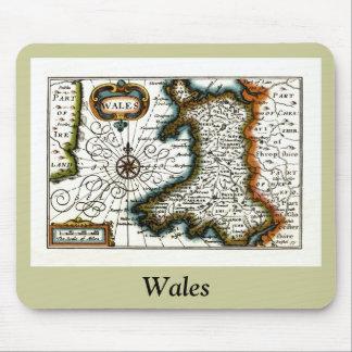 Mapa y/o bandera de País de Gales Mouse Pads
