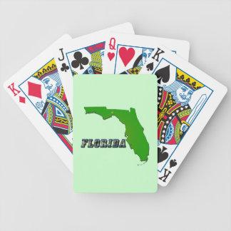 Mapa y texto del estado de la Florida Barajas