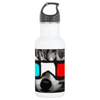 mapache 3D Botella De Agua