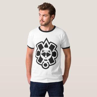Mapache Glyph 1 Ringer T-Shirt