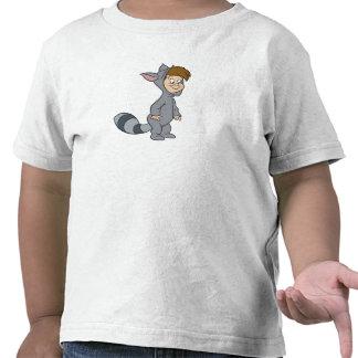 Mapache perdido Disney de los muchachos de Peter Camiseta