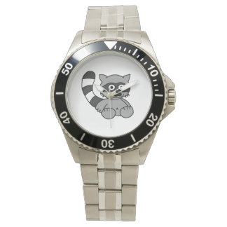 Mapache Reloj