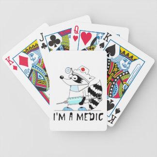 Mapache: Soy médico Barajas De Cartas