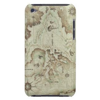 Mapamundi viejo Case-Mate iPod touch fundas