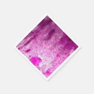 Mapas abstractos servilleta desechable