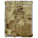 Mapas antiguos de los mapas de Viejo Mundo del vin