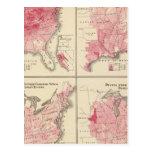 Mapas de la vitalidad de Estados Unidos Postal