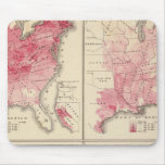Mapas de la vitalidad de Estados Unidos Tapetes De Raton