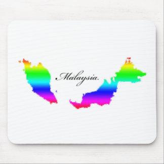 Mapas de Malasia Mouse Pads