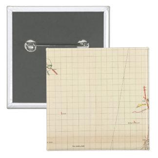 Mapas de mina de Comstock número I Pin