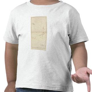 Mapas de mina de Comstock número I Camisetas