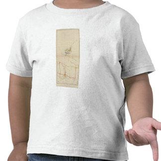 Mapas de mina de Comstock número II Camisetas