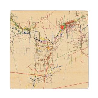 Mapas de mina de Comstock número IV