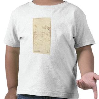 Mapas de mina de Comstock número V Camiseta