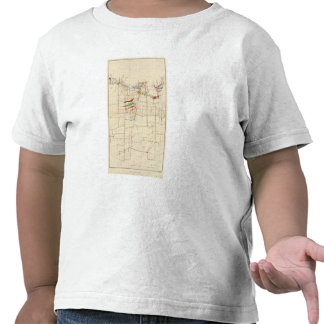 Mapas de mina de Comstock número VI Camisetas