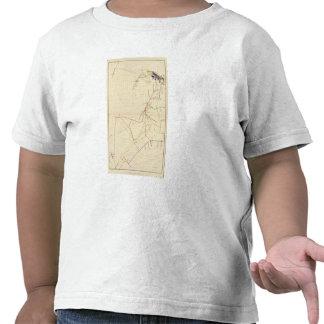 Mapas de mina de Comstock número VII Camisetas