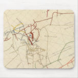 Mapas de mina de Comstock número VIII Mousepads
