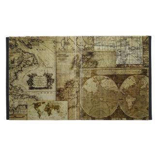 Mapas de Viejo Mundo del vintage