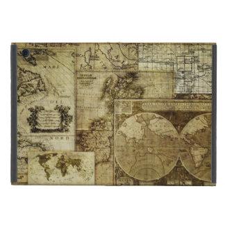 Mapas de Viejo Mundo del vintage iPad Mini Funda