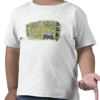 Mapas de York, de Shrewsbury, de Lancaster, y de R Camiseta