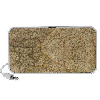 Mapas del imperio iPod altavoces