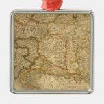 Mapas del imperio ornamentos de navidad